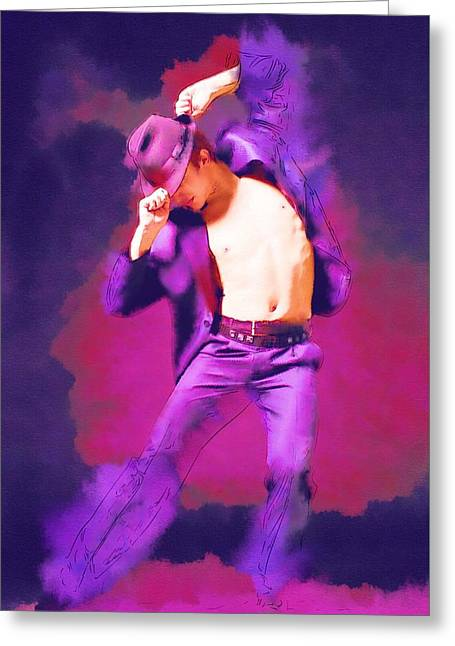 Lessons Greeting Cards - Dance Belly Greeting Card by Michael Vicin