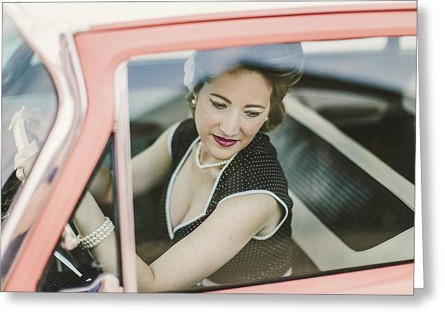 Stp Greeting Cards - Pinup Sce Greeting Card by Tim Ell