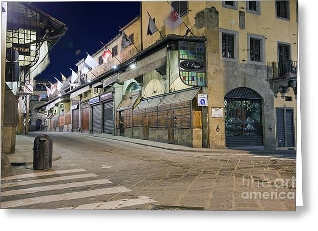 Old Street Greeting Cards - Ponte Vecchio Greeting Card by Andre Goncalves