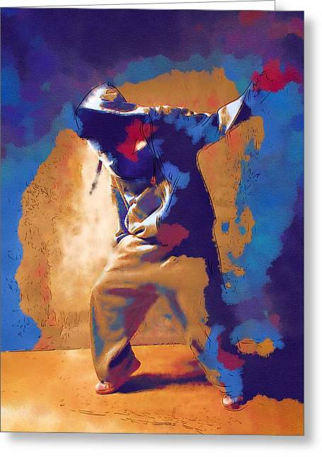 Lessons Greeting Cards - On Dance Greeting Card by Michael Vicin