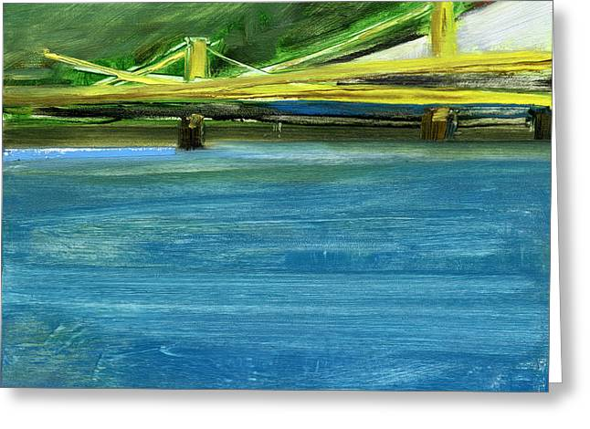 Bridge Greeting Cards - RCNpaintings.com Greeting Card by Chris N Rohrbach