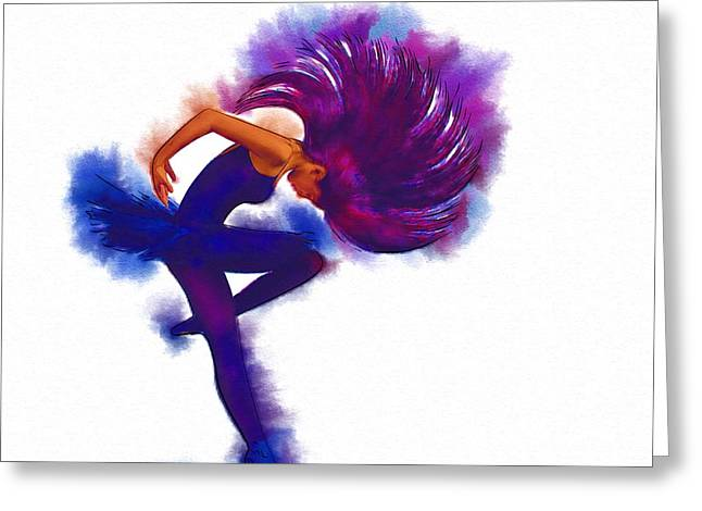 The Houses Greeting Cards - Dance Hip Greeting Card by Michael Vicin