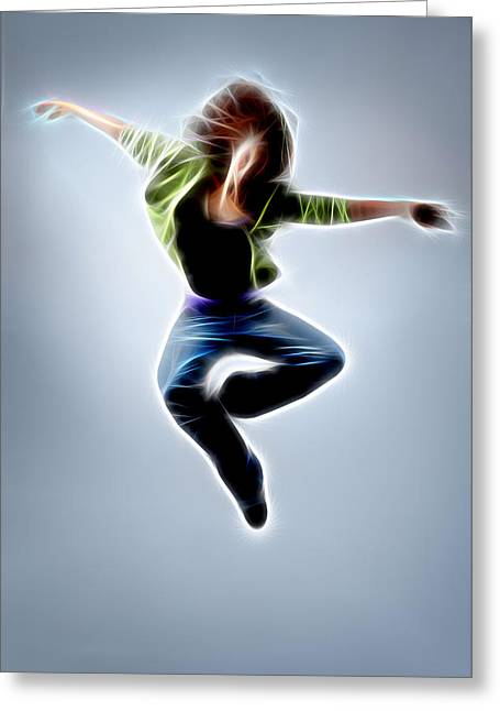 The Houses Greeting Cards - Dance I Greeting Card by Michael Vicin