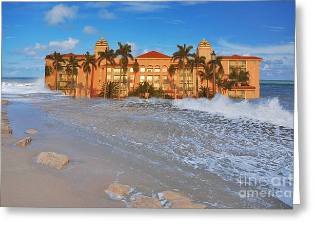 Ocean Art Photos Greeting Cards - 26- Valet Parking Available Greeting Card by Joseph Keane