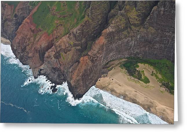 Keen Greeting Cards - Kauai Shoreline Greeting Card by Steven Lapkin