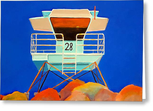 28 South Carlsbad Greeting Card by Karyn Robinson