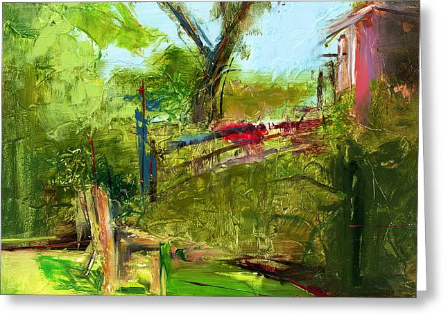 Secret Gardens Greeting Cards - RCNpaintings.com Greeting Card by Chris N Rohrbach