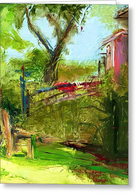 House Warming Greeting Cards - RCNpaintings.com Greeting Card by Chris N Rohrbach