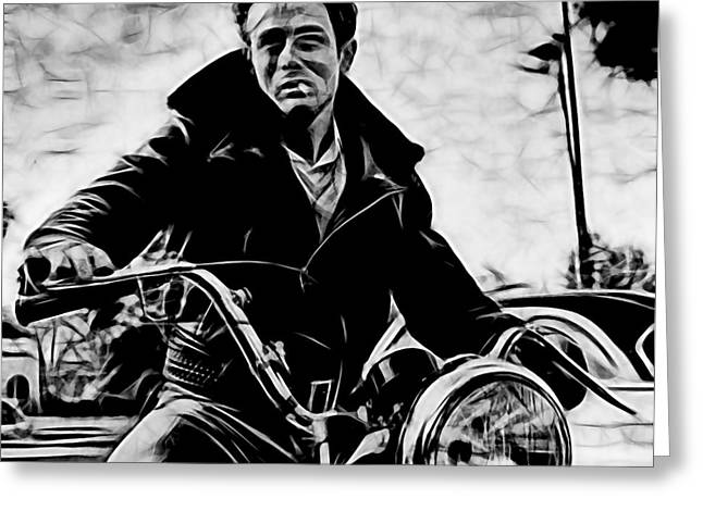 James Greeting Cards - James Dean Collection Greeting Card by Marvin Blaine
