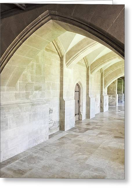 Arches Greeting Card by Tom Gowanlock