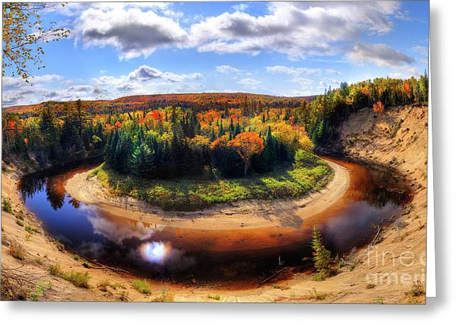 Huntsville Greeting Cards - Autumn in Arrowhead Provincial Park Greeting Card by Oleksiy Maksymenko