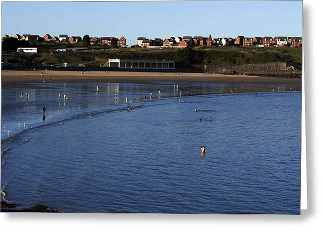 Vale Greeting Cards - Barry Island Greeting Card by Anuruddha Lokuhapuarachchi