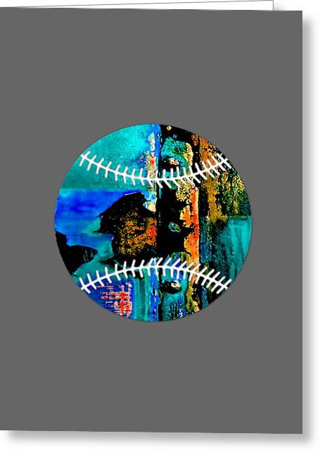 Sports Greeting Cards - Baseball Collection Greeting Card by Marvin Blaine