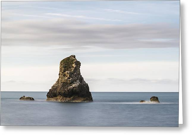 Rocks Greeting Cards - Beautiful conceptual long exposure peaceful landscape of rocks i Greeting Card by Matthew Gibson