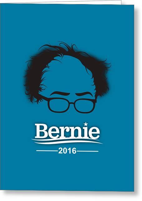 Bernie Sanders Greeting Card by Marvin Blaine