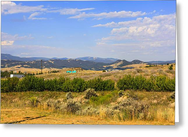 Outlook Greeting Cards - Big Sky Country Greeting Card by Chris Smith