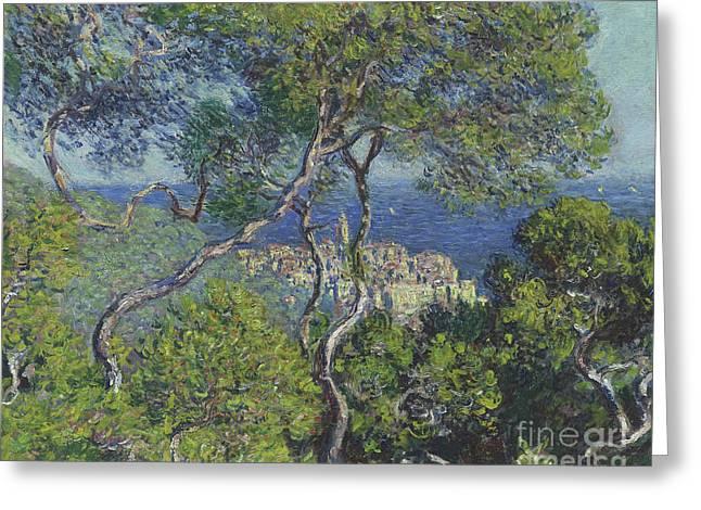 Bordighera Greeting Card by Claude Monet