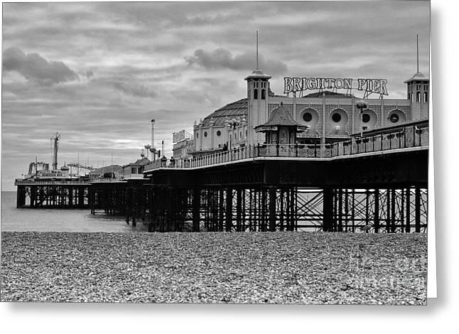 Brighton Pier Greeting Card by Stephen Smith