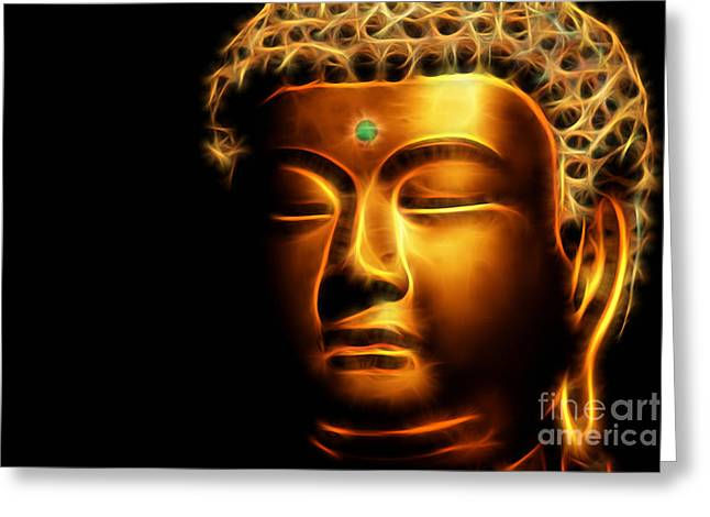 Buddah Greeting Cards - Buddah Collection Greeting Card by Marvin Blaine