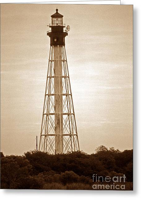 Beach Photos Greeting Cards - Cape Charles Lighthouse Greeting Card by Skip Willits