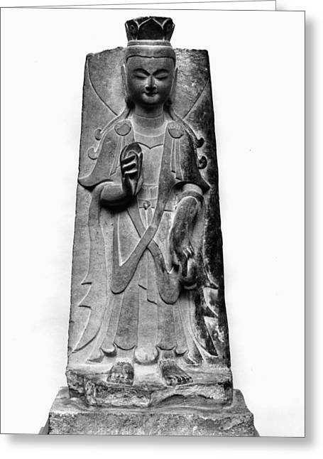 4th Greeting Cards - China: Bodhisattva Greeting Card by Granger