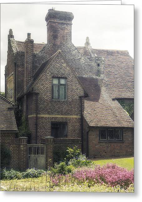 Historic England Greeting Cards - English cottage Greeting Card by Joana Kruse