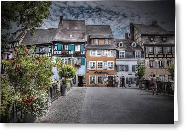 Fairytale Alsace Greeting Card by Sandra Rugina