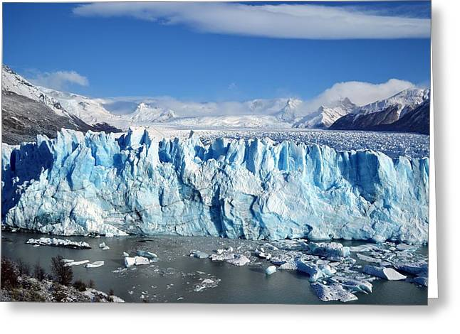 Glacier Greeting Card by FL collection