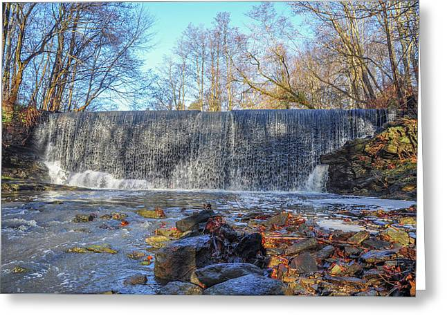 Gladwyne - Dove Lake Waterfall Greeting Card by Bill Cannon
