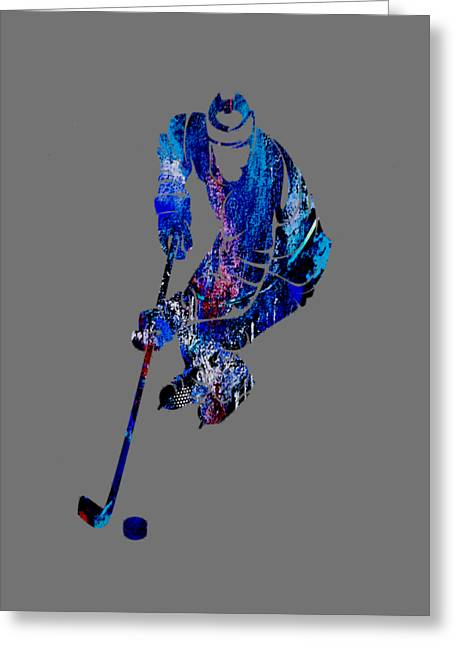 Ice Greeting Cards - Hockey Collection Greeting Card by Marvin Blaine