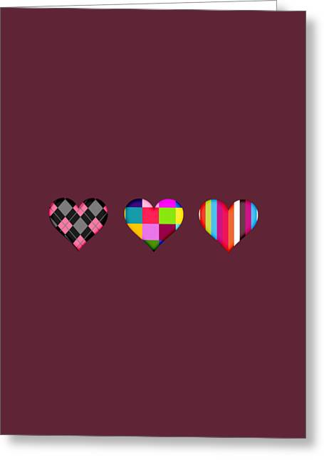 Kiss Greeting Cards - iLove Collection Greeting Card by Marvin Blaine