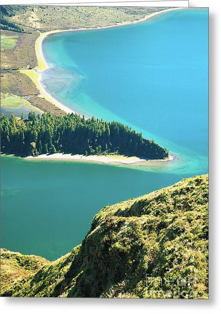 Azores Greeting Cards - Lagoa do Fogo Greeting Card by Gaspar Avila
