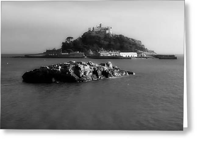 Ocean Vista Greeting Cards - Lovely St Michaels Mount - Cornwall Greeting Card by Joakant