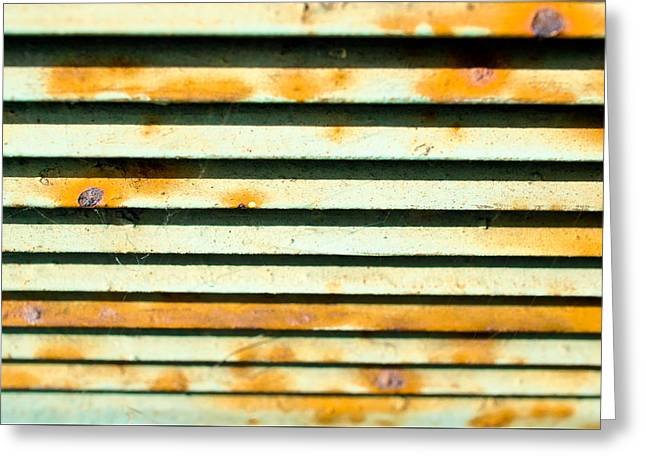 Vent Greeting Cards - Metal vent Greeting Card by Tom Gowanlock