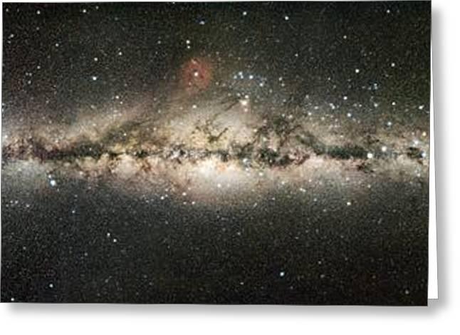 Milky Way Greeting Card by Eckhard Slawik