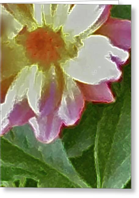 Photograph Of Artist Paintings Greeting Cards - Mix Or Match Flowers  Greeting Card by Debra     Vatalaro