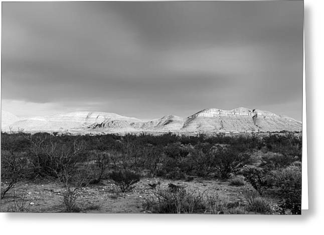 Historic Site Greeting Cards - Mountains of Texas Greeting Card by Mountain Dreams