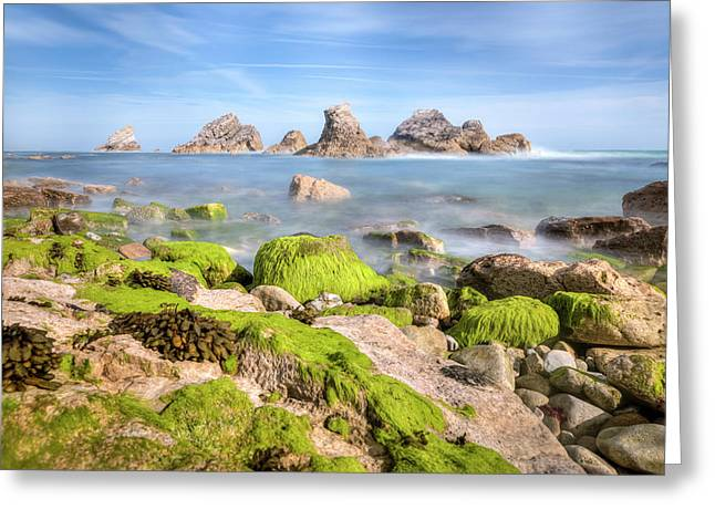 Mupe Bay - England Greeting Card by Joana Kruse