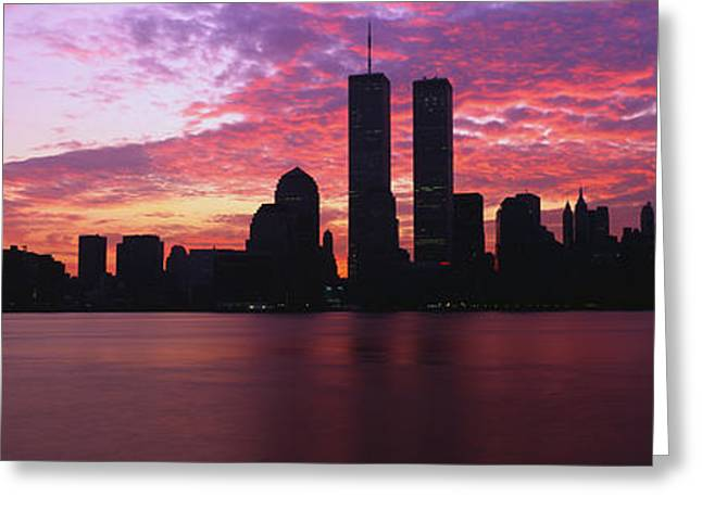 New York Ny Greeting Card by Panoramic Images