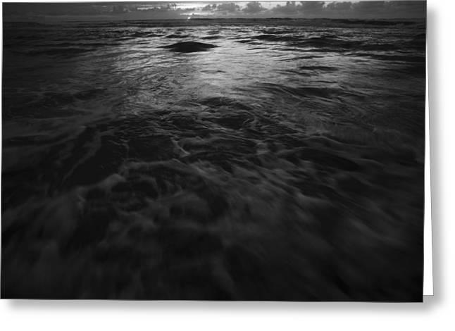 Ocean Art Photography Greeting Cards - Ocean Greeting Card by Yaniv Eitan
