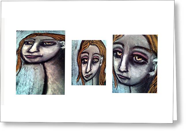 Unique View Pastels Greeting Cards - 3 Of 9 -1 Greeting Card by Amy Marie Adams