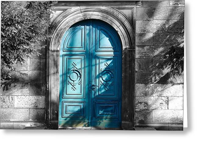 Entrance Door Greeting Cards - Old Doors of Germany Greeting Card by Seth0s