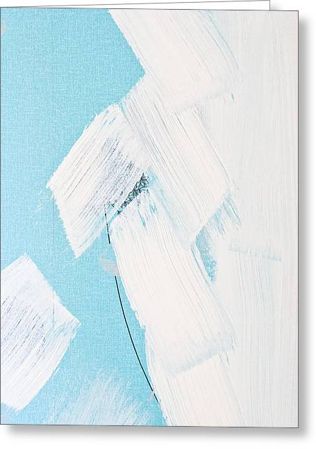 Paint Marks Greeting Card by Tom Gowanlock