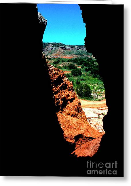 Recesses Greeting Cards - Palo Duro Canyon State Park Greeting Card by Thomas R Fletcher
