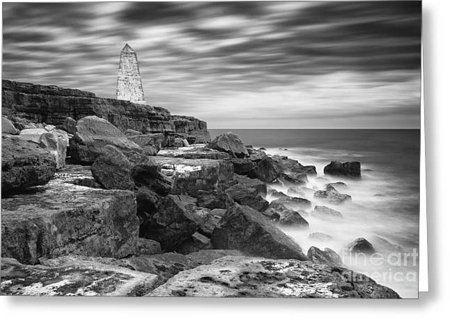 Geology Photographs Greeting Cards - Portland Seascape Greeting Card by Karl Thompson