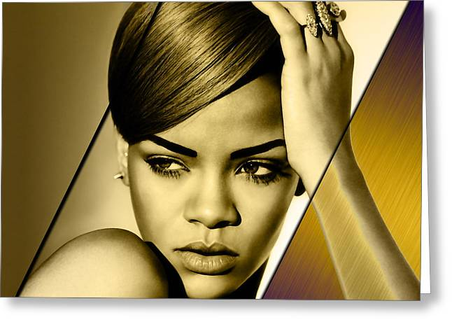 Rhianna Collection Greeting Card by Marvin Blaine