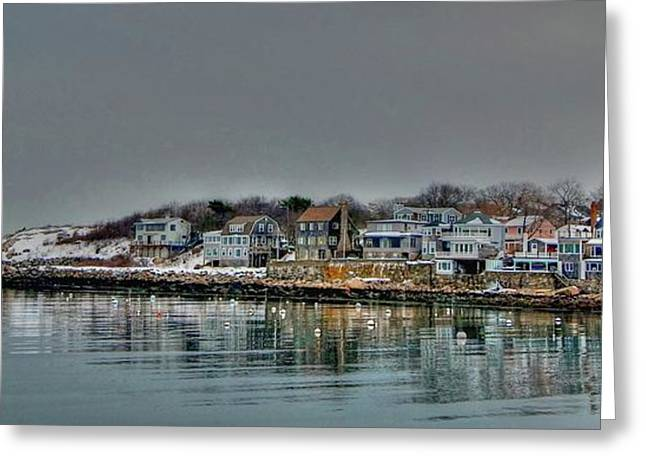 Hdr Landscape Greeting Cards - Rockport Greeting Card by Craig Incardone