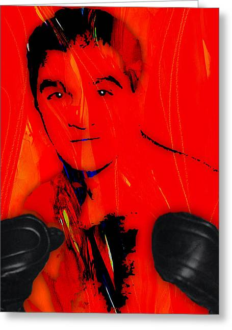 Marciano Greeting Cards - Rocky Marciano Collection Greeting Card by Marvin Blaine
