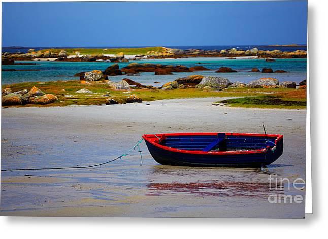 Ocean Shore Greeting Cards - Rossadillisk Quay Greeting Card by Gabriela Insuratelu