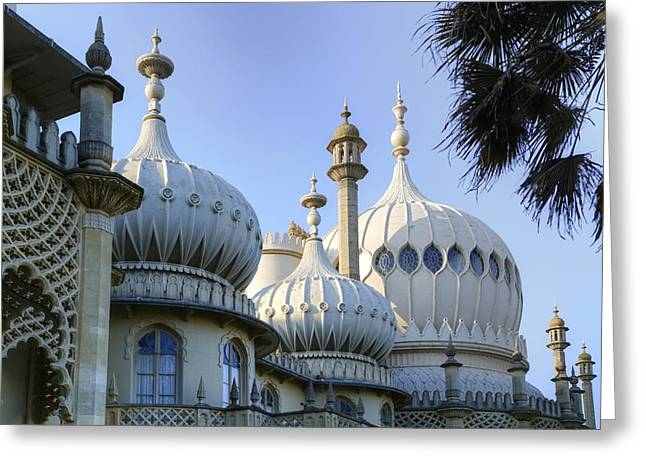 Sussex Greeting Cards - Royal Pavilion Brighton Greeting Card by Joana Kruse